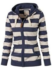 jacket,navy,stripes,striped jacket,kawaii,cute,harajuku,korean fashion,striped top,striped sweater