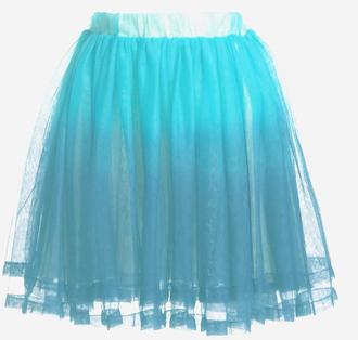 dip dyed skirt skirts dress mediatakeout tulle skirt tutu prom dress gradient color gradient white blue gradient bridesmaid dress tie-dye skirt dip dyed dress party skirt prom skirt skater skirt mini skirt gauze skirt