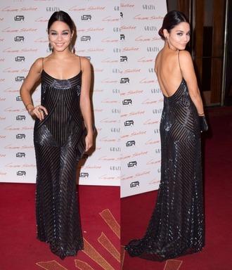 dress glitter dress glitter vanessa hudgens sparkle sparkly dress prom dress gown bag jewels pll ice ball