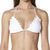 SURFSTITCH - WOMENS - SWIMWEAR - BIKINI TOPS - BEACH RIOT X STONE COLD FOX LAGOON TRI SEPARATE TOP - WHITE