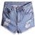 ROMWE | Fading Rivet Shorts, The Latest Street Fashion