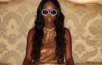 dress glasses hairstyles jewels lipstick lip gloss