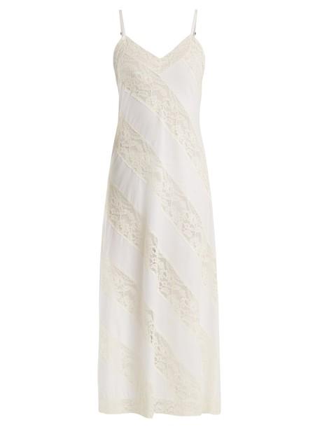 MORPHO + LUNA lace cotton white underwear