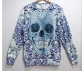 sweater,sweatshirt,geometric,skull,style,tattoo,daimonds,grunge,alternative,cute