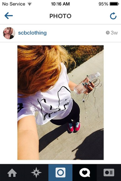 t-shirt black shirt shoes yuleema leggings red selfie crop tops l.a.