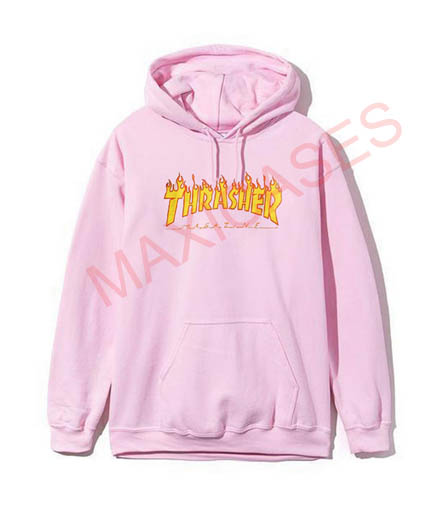 thrasher hoodie size s
