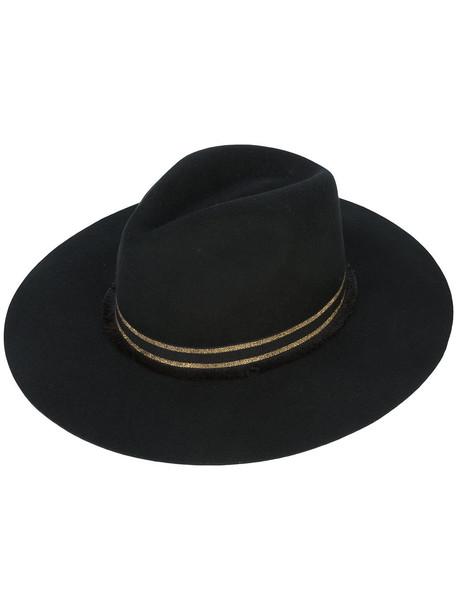 long classic hat black