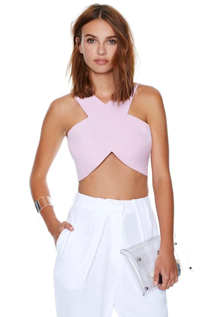 Rosaline Crop Top | Shop Clothes at Nasty Gal