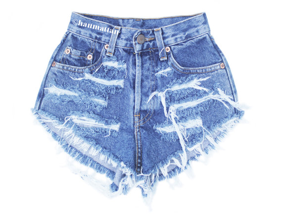 ALL SIZES RAGGED Vintage Levi highwaisted denim door Hanmattan