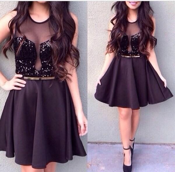 dress glitter wow black dress black cute dress little black dress cute dress