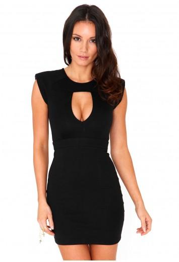 Hestia Keyhole Bodycon Dress - dresses - LBD - missguided