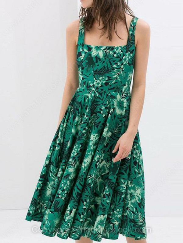 print dress emerald green emerald dress emerald green prom dress vintage dress retro dress