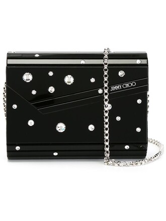 candy clutch black bag