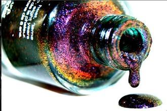 nail polish glitter glitter nail polish iridescent nail polish hipster grunge soft grunge