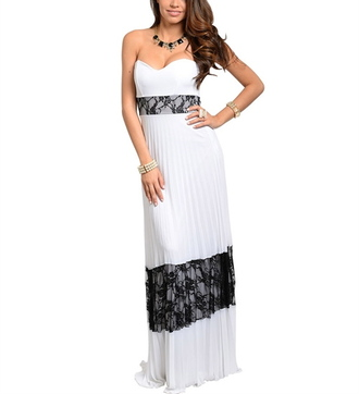 lace dress long dress prom dress women boutique online store womens store women dresses white and black dress lace and white boutsiter makkiyyah jewels homecoming dress bridesmaid wedding guest dresses sweetheart neckline dress