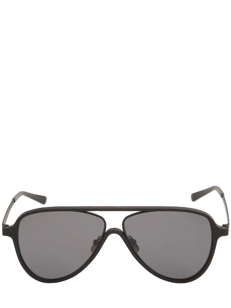 ITALIA INDEPENDENT Ayrton Aluminum Sunglasses in black