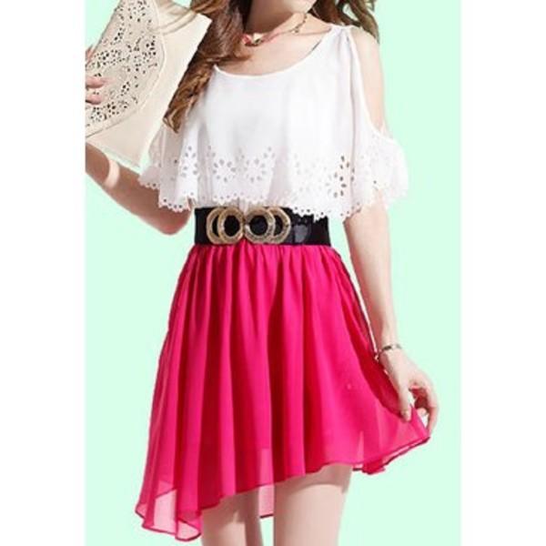 skirt fashion clothes dress blouse