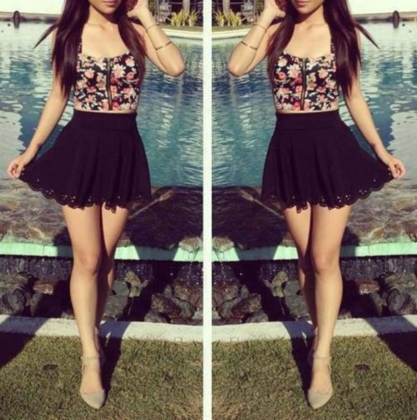 13ee75abdda756 $19 Stoosh black skirt sold on www1.macys.com - Wheretoget