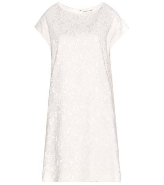 Saint Laurent dress lace dress lace white