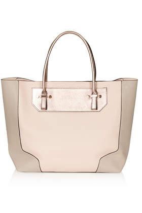 Saffiano Tote Bag - Topshop USA