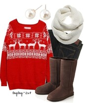 sweater,christmas,ugly christmas sweater,winter sweater,oversized sweater,jewels,scarf