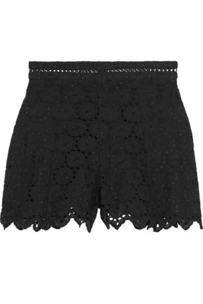 Zimmermann shorts cotton black