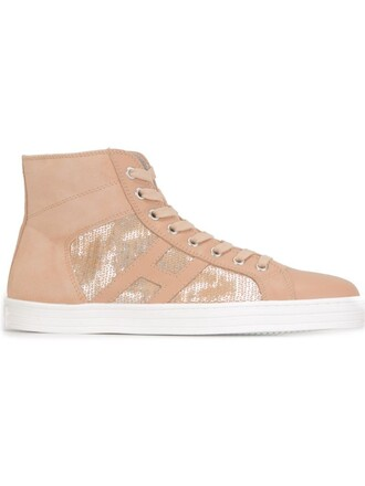 sneakers nude shoes