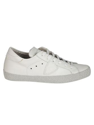 glitter paris sneakers silver shoes