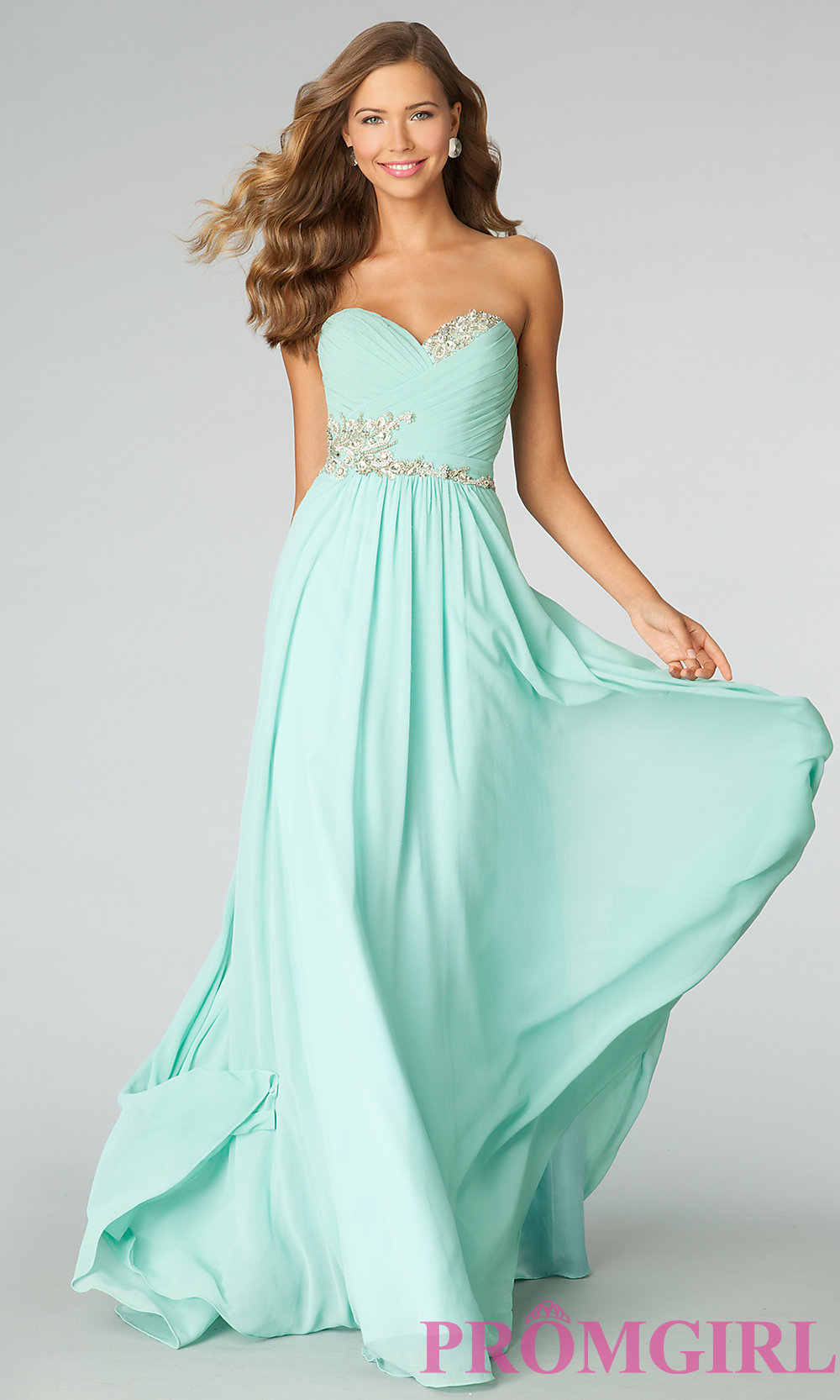 Strapless Dress JVN by Jovani