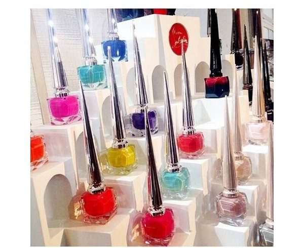 make-up louboutin nail polish nails