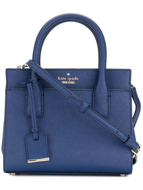 Kate Spade women leather blue bag