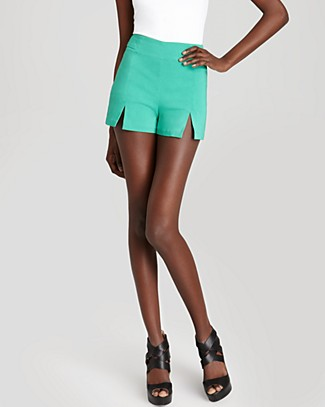 Aqua Sport Shorts - High Waisted | Bloomingdale's