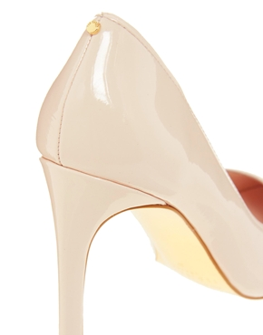 Ted Baker | Ted Baker Nude Thaya Heeled Court Shoes at ASOS