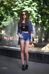 fashion agony,top,shoes,bag,jewels,sunglasses,cardigan
