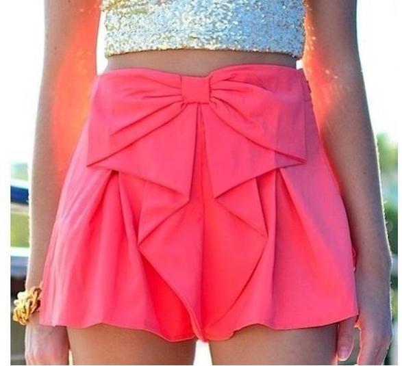 Fashion cute skirt shorts