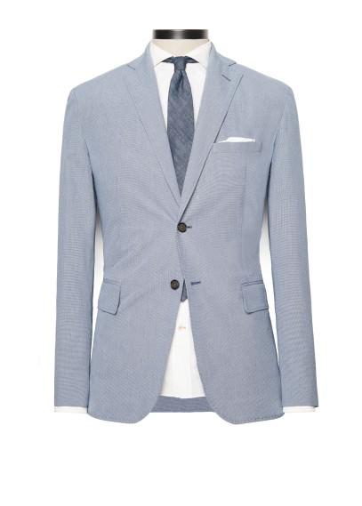 houndstooth suit blazer