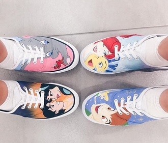 shoes princess disney disney princess colorful