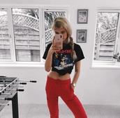 shirt,band merch,black