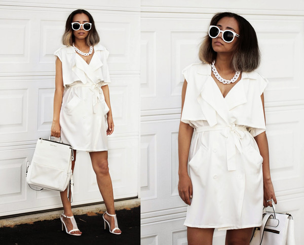 bag white bag leather look bag leather bag swag stylemoi streetstyle