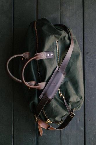 bag canvas leather weekender canvas leather bag weekender