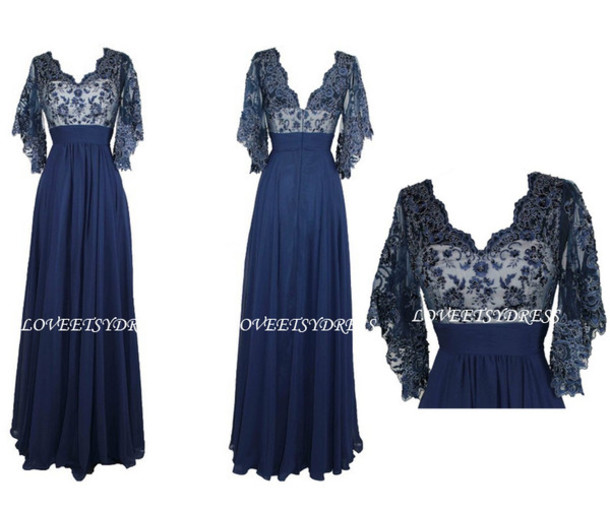 Dress Long Prom Dress Party Dress Prom Dress Mothers Dress