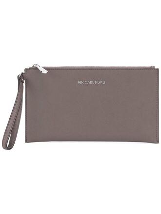 women pouch grey bag