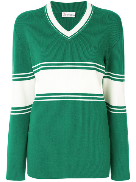 jumper women wool green sweater