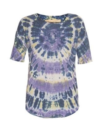 t-shirt shirt purple top