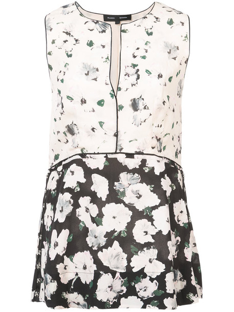 Proenza Schouler top sleeveless women silk