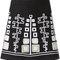 W.gibbs bead embroidered skirt - farfetch