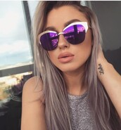 sunglasses,purple