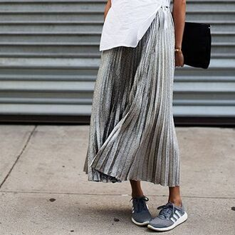 skirt grey black white plaid skirt long skirt flowy skater skirt classy clothes outfit indie indie boho