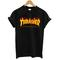 Thrasher skateboard t-shirt womens t-shirt men t-shirt