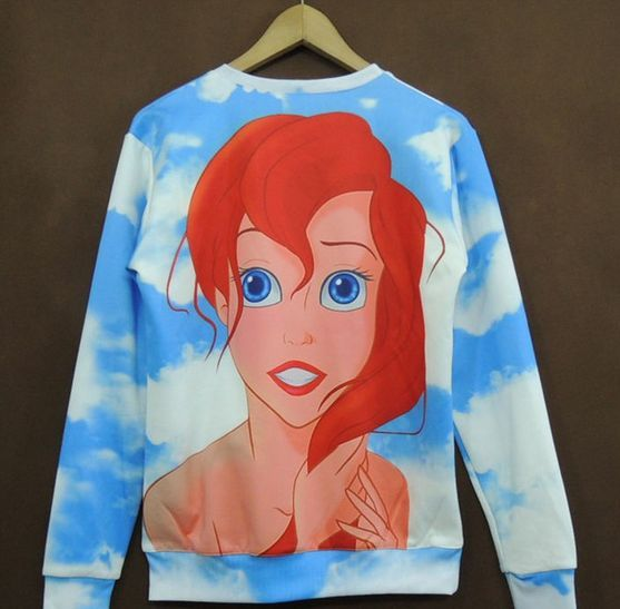 The little mermaid ariel disney sweatshirt